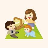 Family theme elements Stock Photos