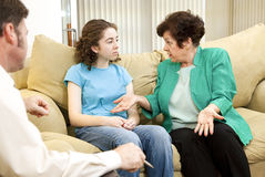 Family Therapy Stock Photography