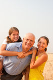 Family of Three Royalty Free Stock Image