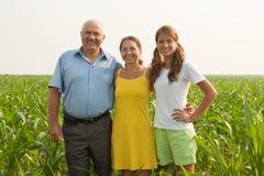 Family of Three stock image