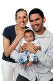 Family of Three Stock Photography
