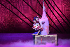 """A family of three-Dance drama """"The Dream of Maritime Silk Road"""" Stock Photography"""
