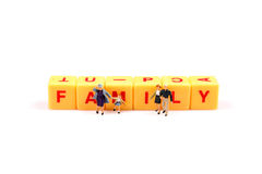 Family ties Stock Image