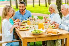 Family time. Royalty Free Stock Image