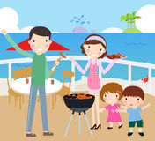 Family time royalty free illustration