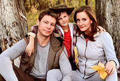 Family together Royalty Free Stock Photography