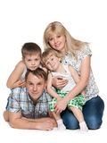Family together Stock Photo