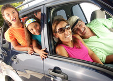 Family tour. Royalty Free Stock Photos