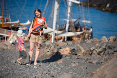 Family tourism Stock Photography