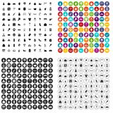 100 family tradition icons set vector variant. 100 family tradition icons set vector in 4 variant for any web design isolated on white Royalty Free Stock Photos