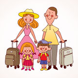 Family travel Royalty Free Stock Photography