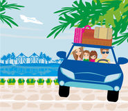 Family travel Royalty Free Stock Images