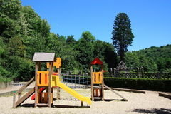 Family travel - Playgrounds Royalty Free Stock Photos