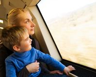 Family traveling Royalty Free Stock Images