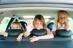 Free Family Travelling By Car Royalty Free Stock Image - 12210976