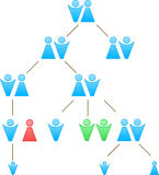 Family tree Royalty Free Stock Photography