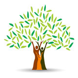 Family tree royalty free illustration