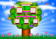 Family Tree background Royalty Free Stock Photo