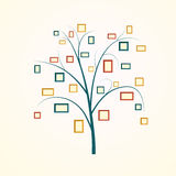 Family tree design Stock Images