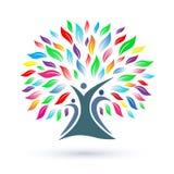Family Tree Logo Stock Images