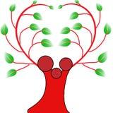 Family Tree Logo, done by Illustrator stock illustration
