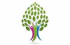 Family Tree concept design stock illustration