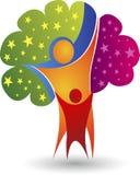 Family tree logo Stock Photos