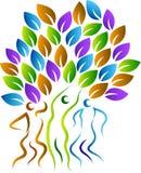 Family tree logo Royalty Free Stock Image