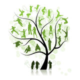Family tree, relatives Stock Photography
