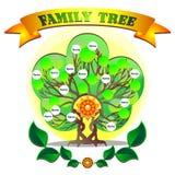 Family tree. Vector graphics of the family tree vector illustration