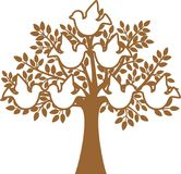 Family Tree. The Family Tree vector illustration Royalty Free Stock Images