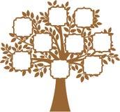 Family Tree. The Family Tree vector illustration Stock Photo