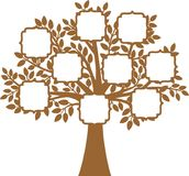 Family Tree. The Family Tree vector illustration royalty free illustration