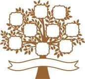 Family Tree. The Family Tree vector illustration Stock Photos