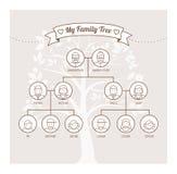 Family tree Stock Photography