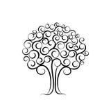 Family tree for wedding invitation design. Vector illustration for wedding decor.  royalty free illustration