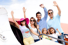 Family trip Stock Photo