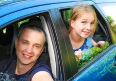 Family trip Stock Image
