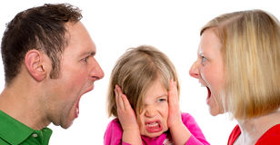Family- trouble Stock Photos