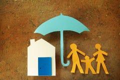 Family umbrella Royalty Free Stock Photo