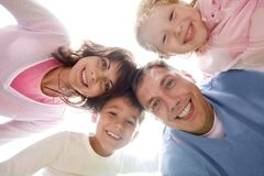 Family union Royalty Free Stock Image