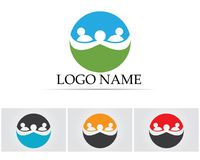 Family union Community people care logo and symbols template Royalty Free Stock Photography