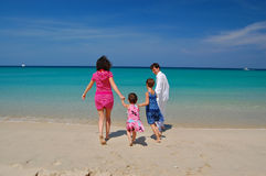 Family vacation Royalty Free Stock Photo