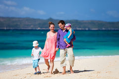 Family on vacation Stock Photo