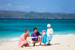 Family on vacation Royalty Free Stock Photos
