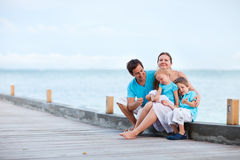 Family on vacation Royalty Free Stock Photography