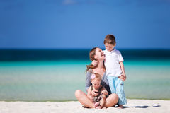 Family vacation Stock Images