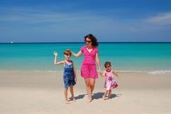 Family vacation Stock Image