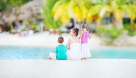 Family on vacation Royalty Free Stock Image