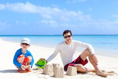 Family vacation Royalty Free Stock Images